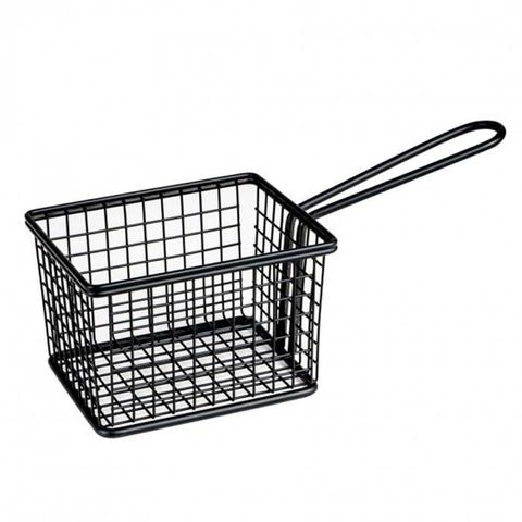 Service Basket - Rectangle Black 120x100x80mm MODA