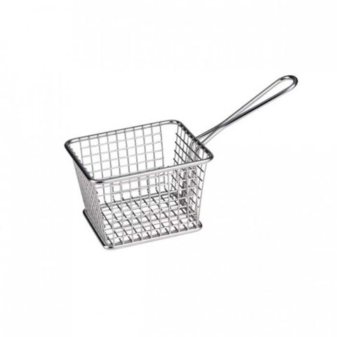 Service Basket - Rectangle S/S 118x98x78mm ATHENA