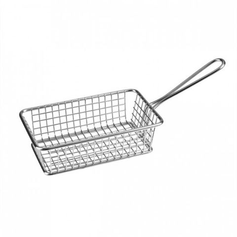 Service Basket - Rectangle S/S 260x102x80mm ATHENA