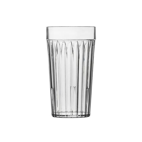 SAN Fluted Tumblers 285ml (72/carton)
