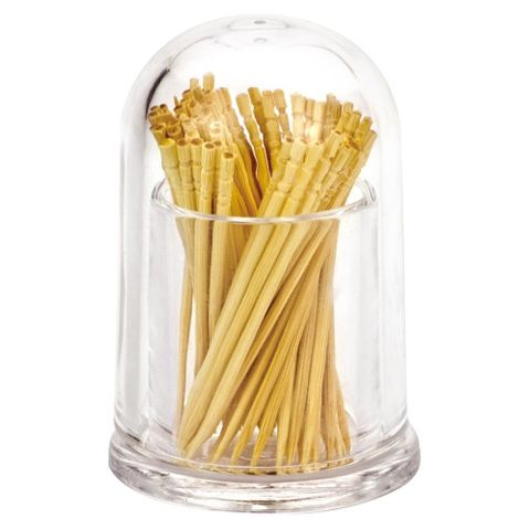 Acrylic Toothpick Holder with Clear Lid