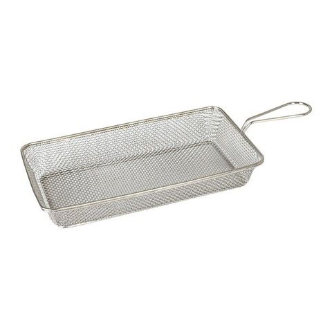 Brooklyn Rectangular Service Basket 190x100x35mm S/S MODA
