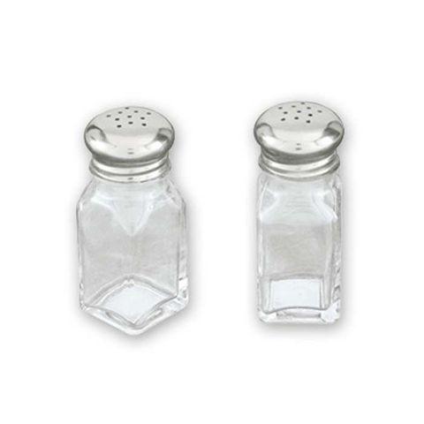 Salt & Pepper Shaker - Square 60ml S/S Top