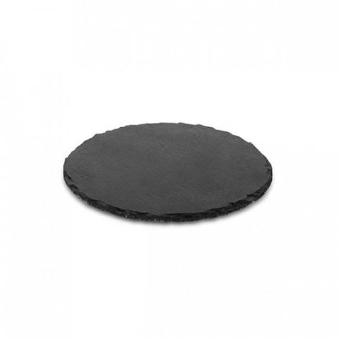 Art de Gourmet Round Slate Platter 350mm ATHENA