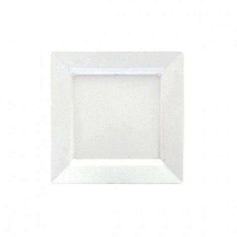 Melamine Square Platter 300x300mm White RYNER