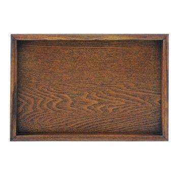 Wooden Plate 370x260x18mm