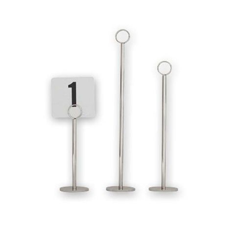 Table Number Stand 300mm Base 70mm