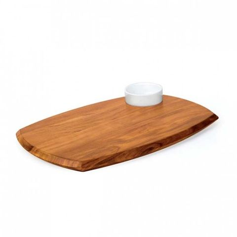 Serving Board W/Dipping Bowl 255x362mm ATHENA
