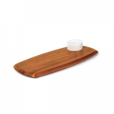 Serving Board W/Dipping Bowl 180x362mm ATHENA