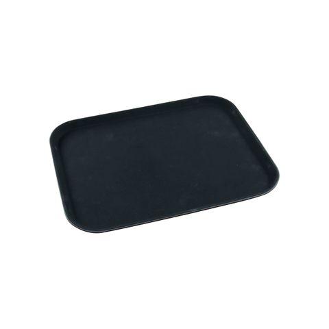 Rectangular Non-Slip Drink Tray 35 X 45CM Black