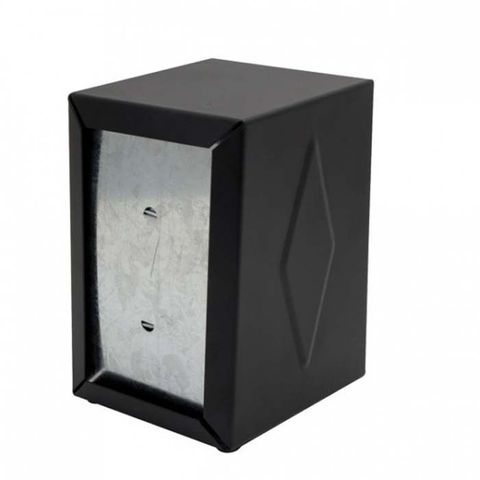 Small Napkin Dispenser S/S Black