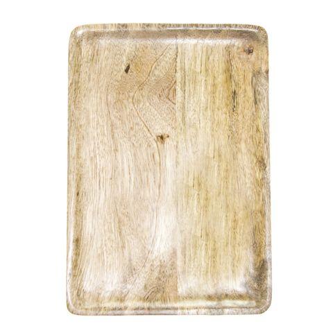 Mangowood Serving Board Rectangular 400x200x15mm Natural