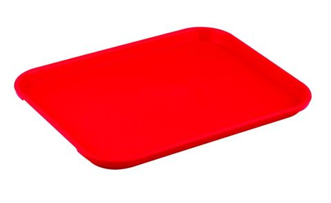 Rectangle Tray Red 280x380x21mm