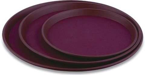 Round Non-Slip Tray 355x22mm