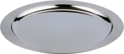 14'' Stainless Steel Serving Tray 350mm