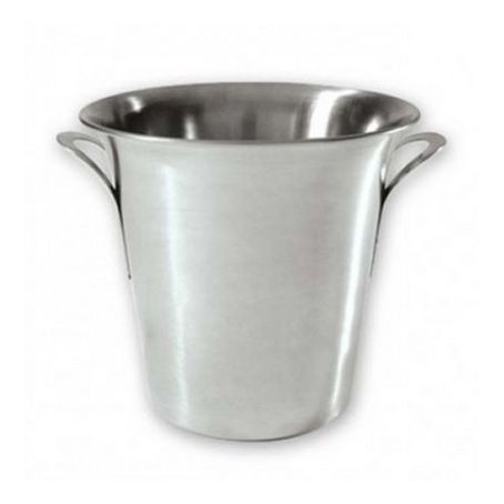 Wine Bucket 18/8 215x200mm Satin Finish HD Tulip Style