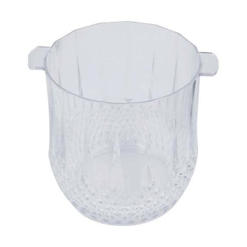 Clear Acrylic Ice Bucket / Wine Cooler 125x130mm