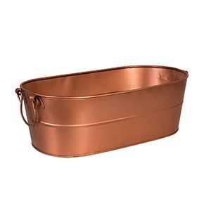 MODA Brookyln Beverage Tub - Copper Satin (plain)