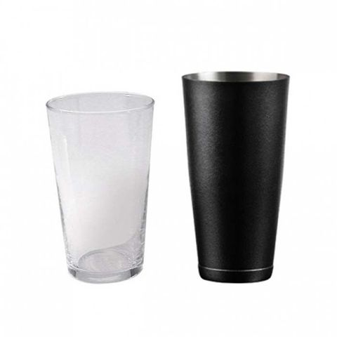 Cocktail Shaker (Base only) - American 18/8 Charcoal Grey