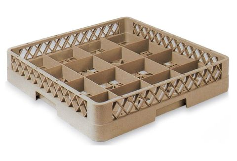 Glass Rack 16 Compartment