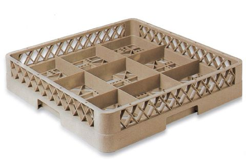 Glass Rack 9 Compartment