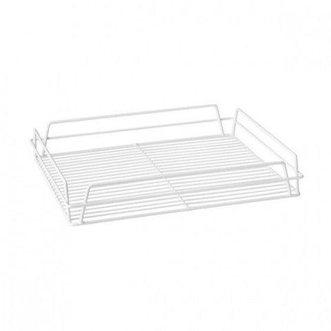 Glass Basket (White) - Rectangular 430x355x75mm