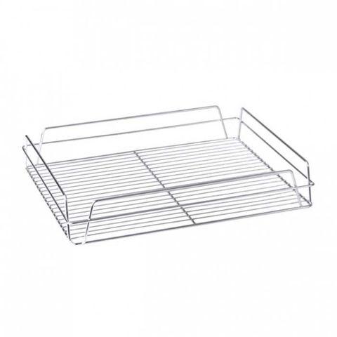 Glass Basket (Chrome) - Rectangular 430x355x75mm
