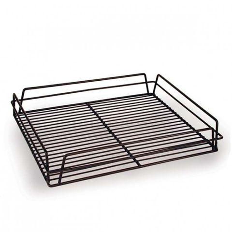 Glass Basket (Black) - Rectangular 430x355x75mm