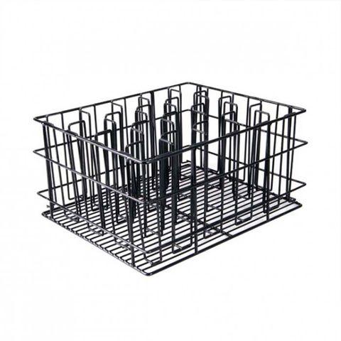 20 Compartment Glass Basket (Black) - 430x355x215mm