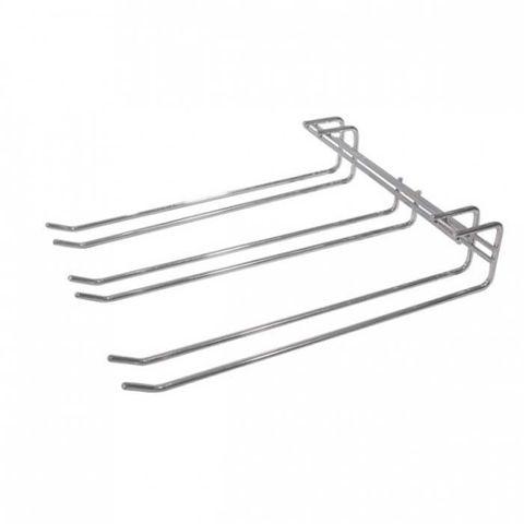 Glass Hanger - Triple Row 270x220mm (Chrome)