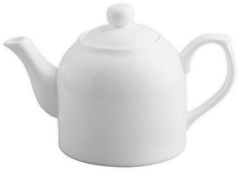 Teapot Porcelain White