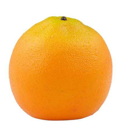 Artificial Fruit Navel Orange 8cm