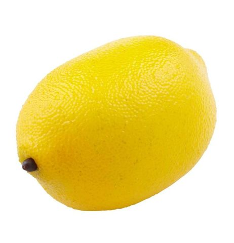 Artificial Fruit Lemon 9cm