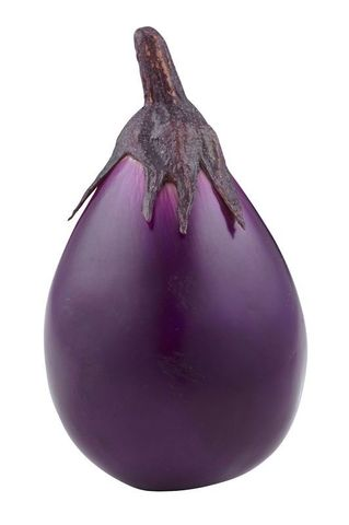 Artificial Fruit Eggplant 18cm