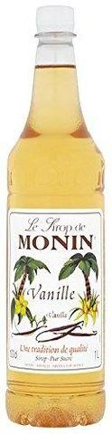 Monin Vanilla Syrup 1L