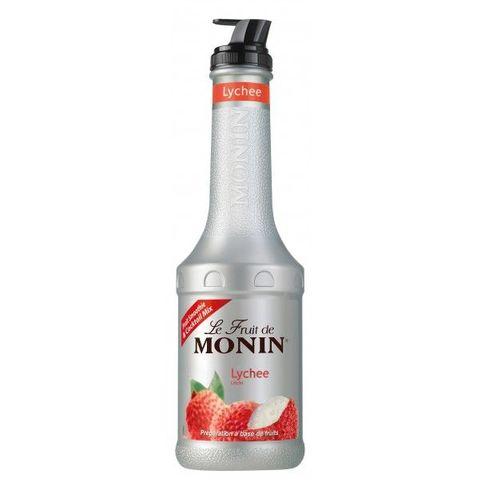 Monin Fruit Puree Lychee 1L