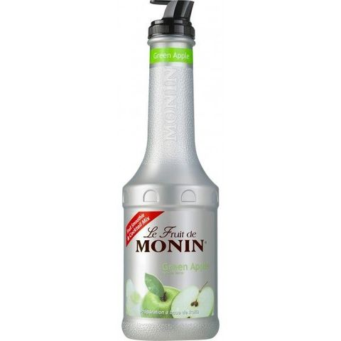 Monin Fruit Puree Green Apple 1L