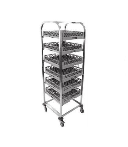 7 Layers- Glass / Dish Rack Dolly 630x700x1700mm
