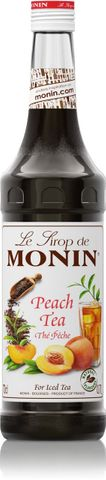 Monin Peach Tea Syrup 700ml
