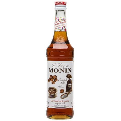 Monin Salty Caramel Syrup 700ml