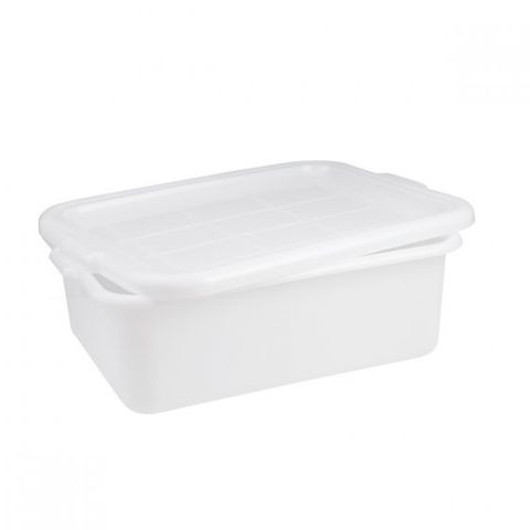 Tote Box-530x430x175mm White CATER-RAX