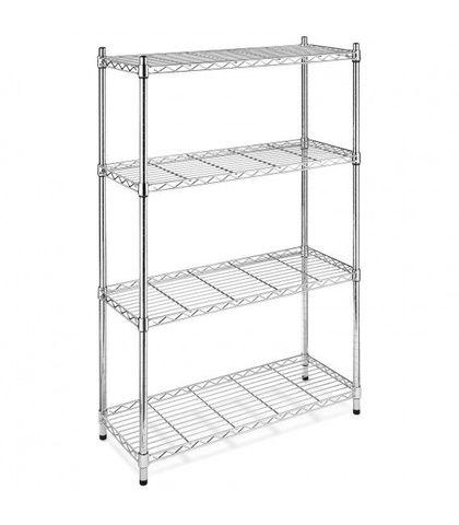 Chrome Wire Shelf 910x455x1800mm