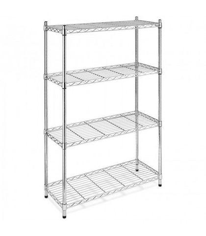 Chrome Wire Shelf 1525x530x1800mm