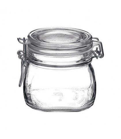 Fido Jar with Clear Lid - 0.56lt Bormioli Rocco