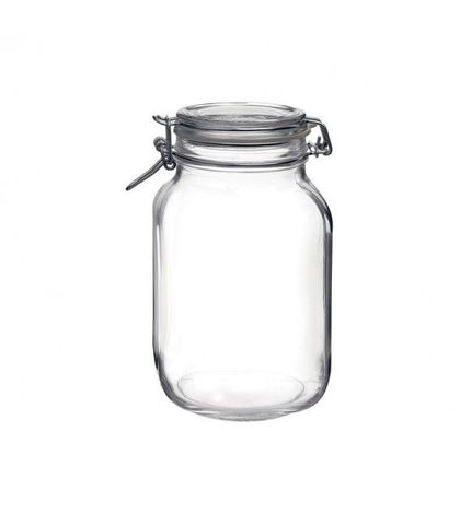 Fido Jar with Clear Lid - 2.13lt Bormioli Rocco