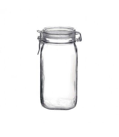 Fido Jar with Clear Lid - 1.62lt Bormioli Rocco