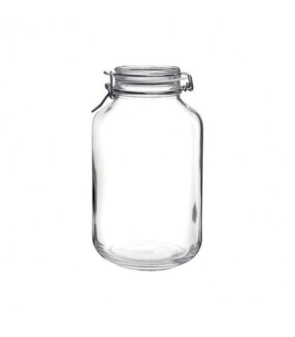 Fido Jar with Clear Lid - 4.06lt Bormioli Rocco