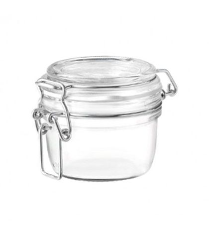 Fido Jar with Clear Lid - 0.125lt Bormioli Rocco