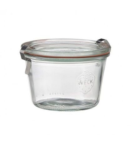 Weck Glass Jars W/Lid 60x55mm (080)