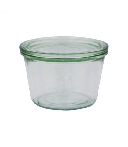 Weck Glass Jars W/Lid 370ml 100x69mm (741)